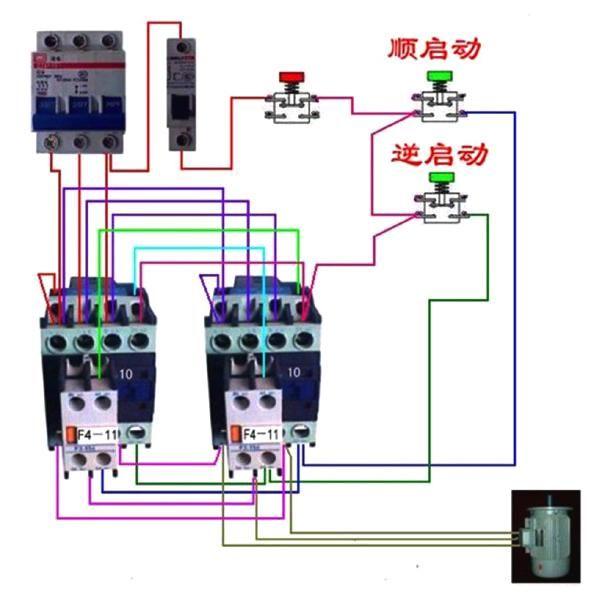 电工基础--电动机控制电路图