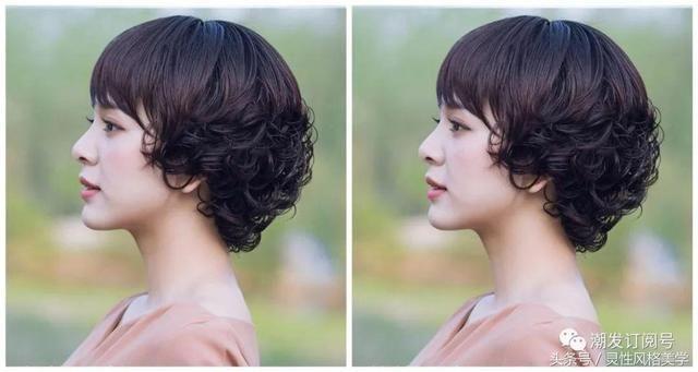 27岁37岁47岁女性发型看这里,绝对适合你,优雅气质!图片