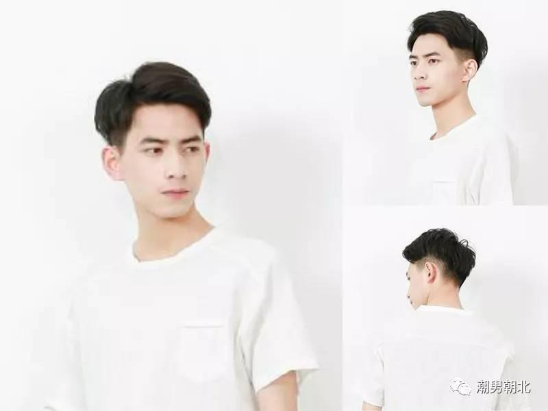 二八分发型男生短发3图片