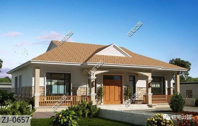 10套农村别墅合集,中式小院堪称最美!回村建2只要十多万?图片