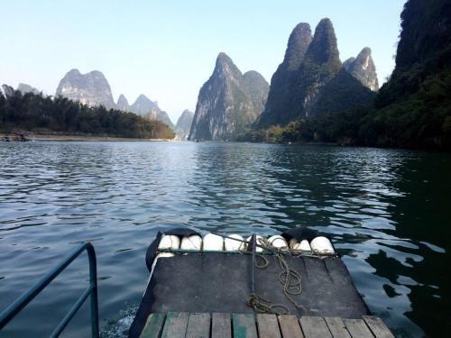 中国广西漓江风景景点