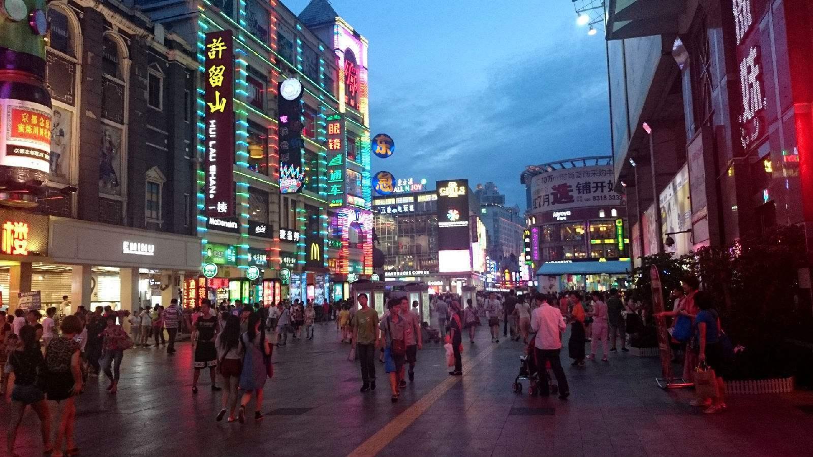 鉴赏:中国顶级步行街之广州上下九商业街
