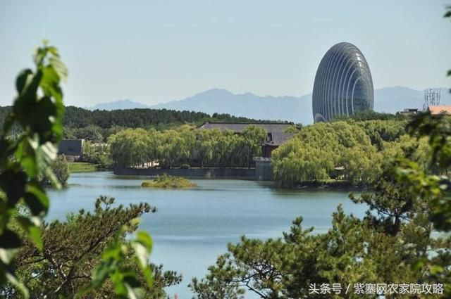 雁栖湖风景区