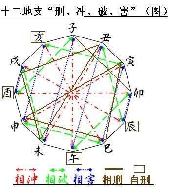 理解了十二生肖相生相克相冲的关系,再看三合.图片