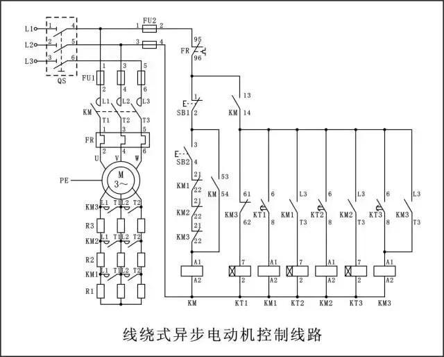 电工实操考核中,最经典的7张电路图,全看懂的都是好电工