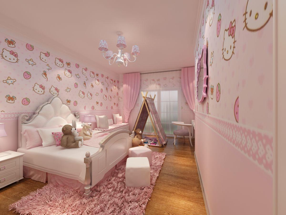 法式欧式粉色系卧室