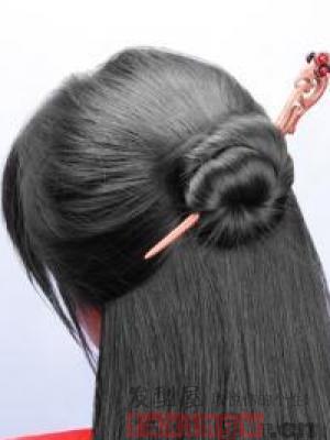 用时候扎精油古典扎发别有一番风味烫发头发什么簪子用最好图片