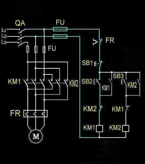 看懂电路图是基本的技能,熟练的掌握常见的基础电路图也是电工入门的