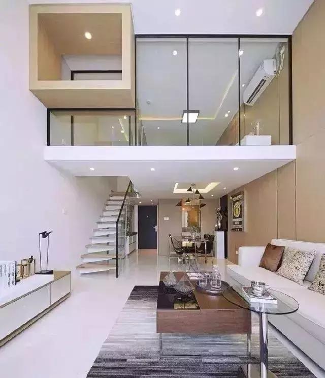 大连装修-小户型loft,现代简约风格与120平米现代美式