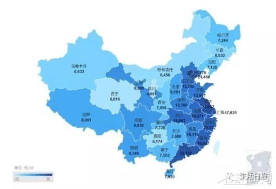全国房价地图出炉 济南均价12801元山东第一