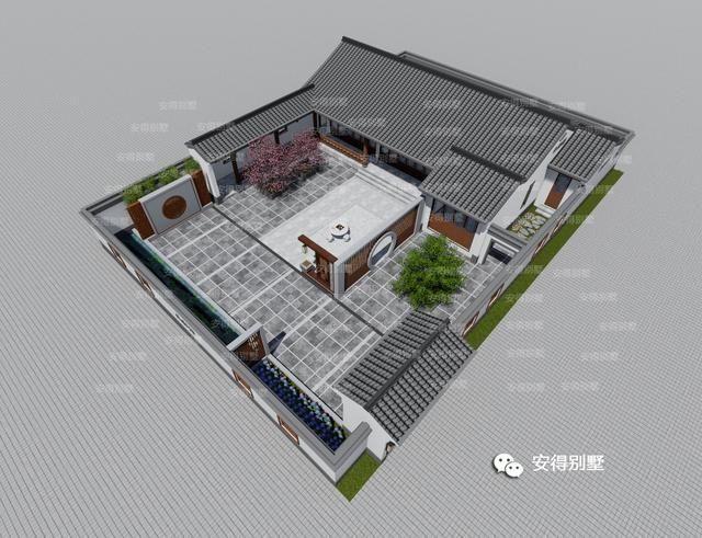 20x30米四合院设计图