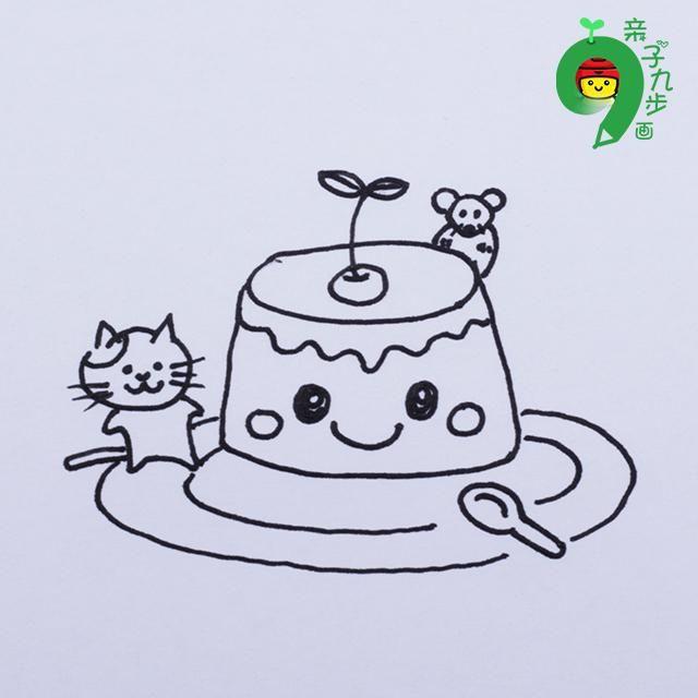 动漫 儿童画 简笔画 卡通 漫画 手绘 头像 线稿 640_640
