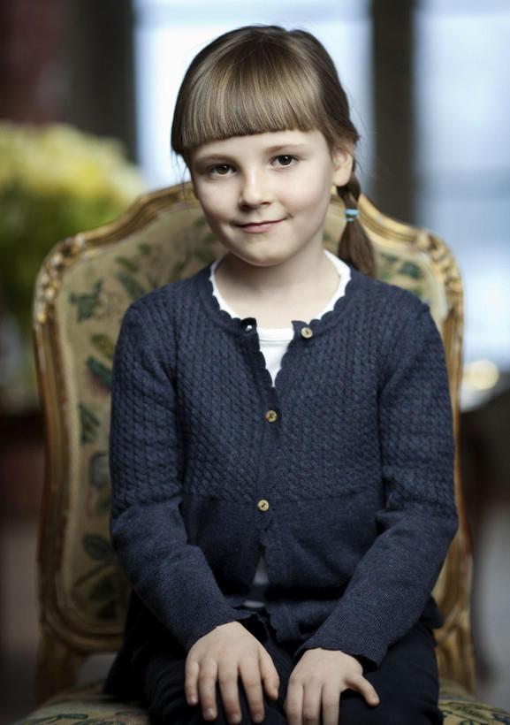 挪威可爱的小公主.