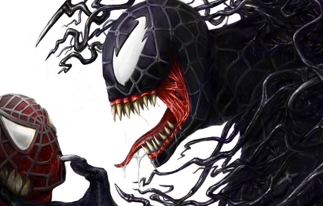 毒液和蜘蛛俠
