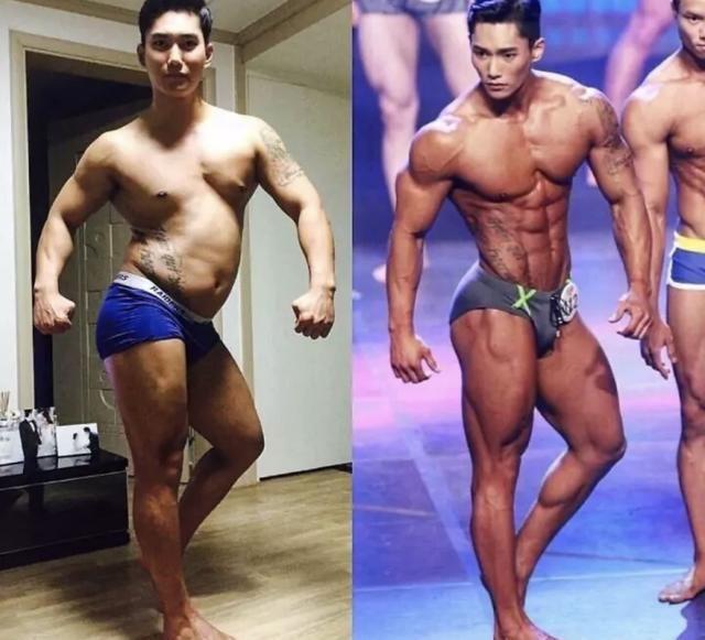 为什么有的健美运动员,肚子很大,却全是腹肌?