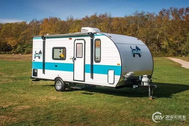 5款超轻拖挂房车 有厨房有卧室 还没五菱宏光重图片