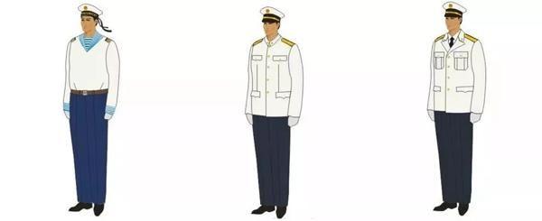 夏常服长袖 顺带补充一句,礼服那种帅气又美腻的衣服一般只在阅兵式