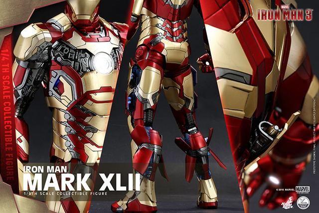 钢铁侠绝境病毒战甲体现,分散合体战甲,最帅的马克42号浪子战衣