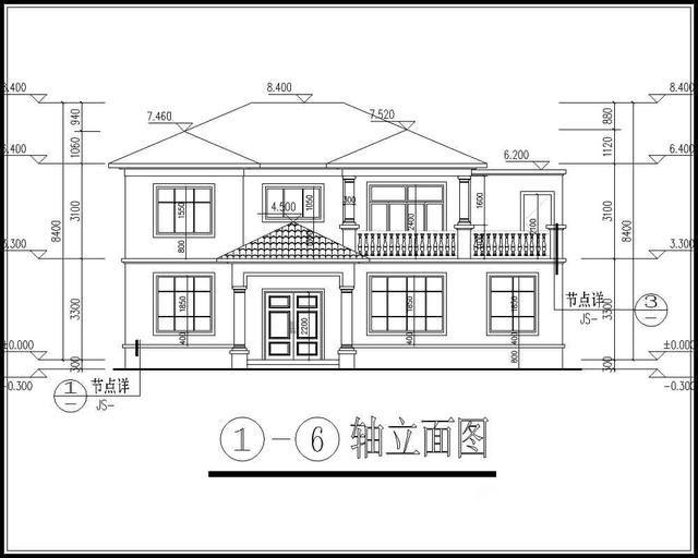 这款户型开间14米,进深8.6米,点地面积121平方米,建筑面积224.