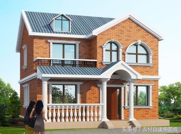15万的产权小别墅设计图,7款建房方案,农村4建旅游区别墅户型图片