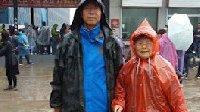 儿子带89岁母亲自驾游