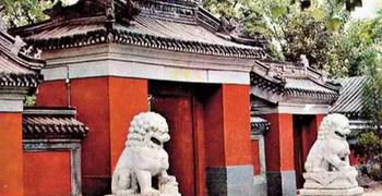 """法源寺:北京""""三大寺庙花卉""""之丁香花"""