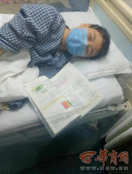 15岁重症少年网上自筹26万救命钱:我需要活下来