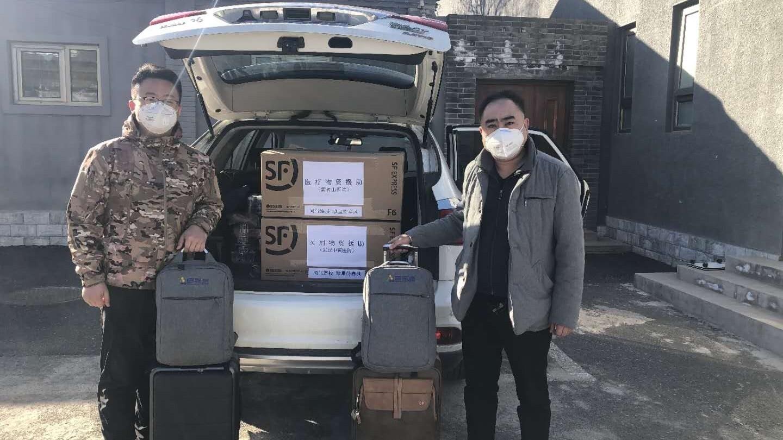 """自驾3000公里!海淀区温泉镇这家企业捐赠最新诊断设备上""""疫""""线"""