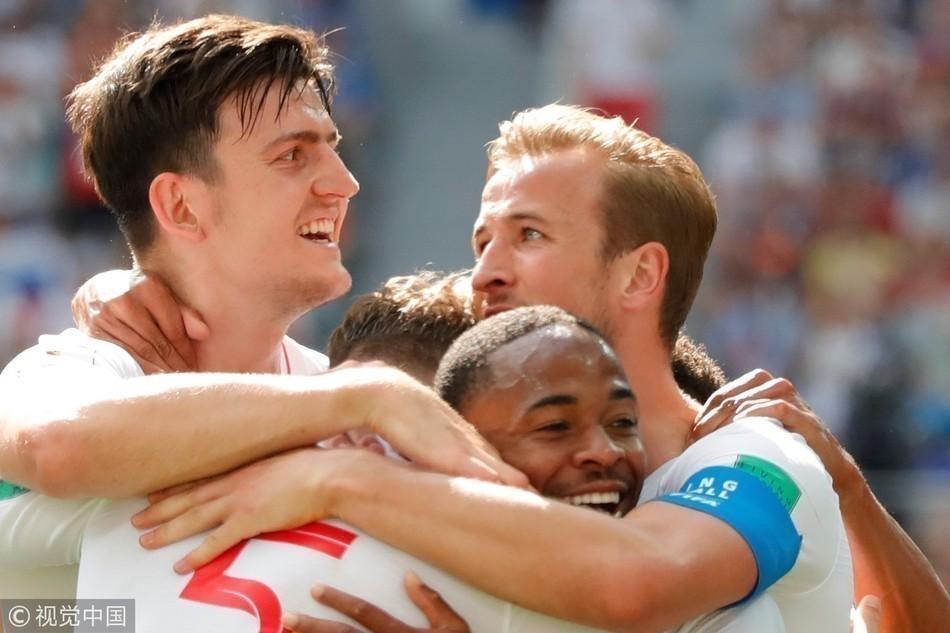 世界杯-凯恩帽子戏法 英格兰6-1大胜出线