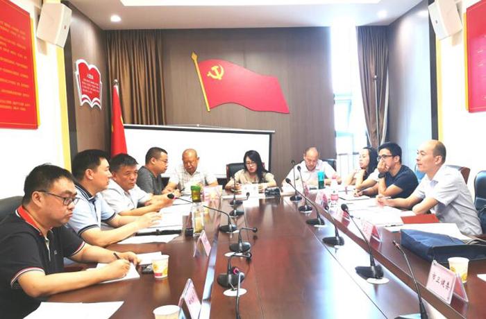 四川省民政厅社会组织管理局赴绵阳调