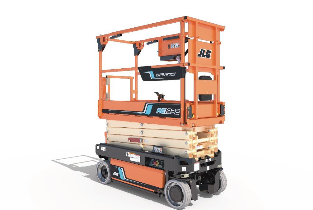 捷尔杰北美正式发布全电动剪式高空作业