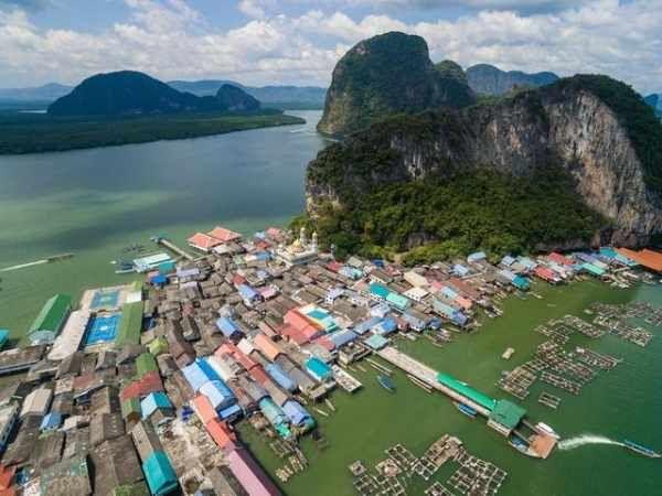 浮在水面上的村庄你见过吗