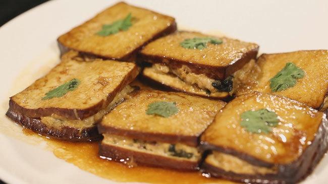 《养生厨房》肉香海苔酿豆腐 11月20日17:25