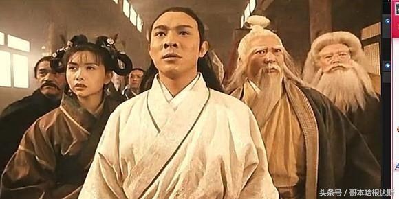 李连杰拒绝出演《倚天屠龙记》下,原因竟是华山二老这句台词!