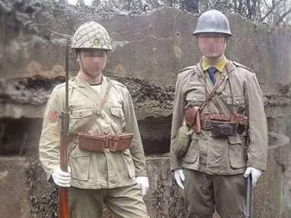 20180302男子南京抗战遗址拍照被拘留