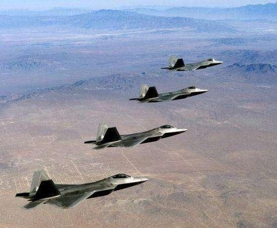 Us: F-22 can be used in every corner of the world. There are two places to try.