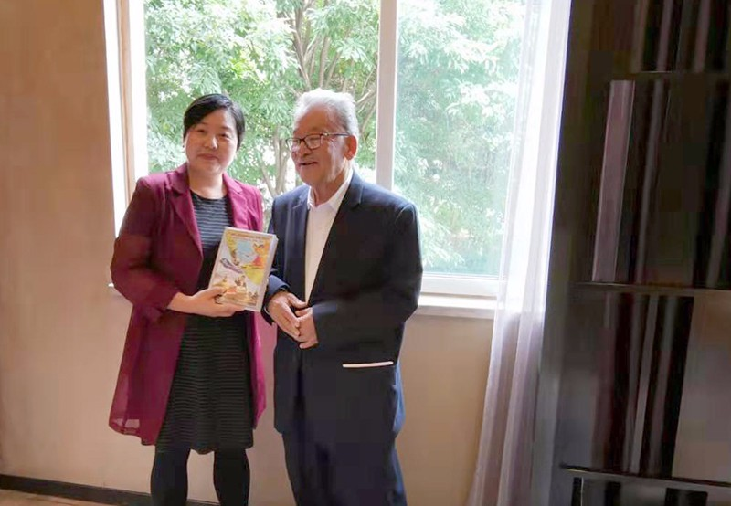 邓秀珍会见尼泊尔驻俄罗斯前大使