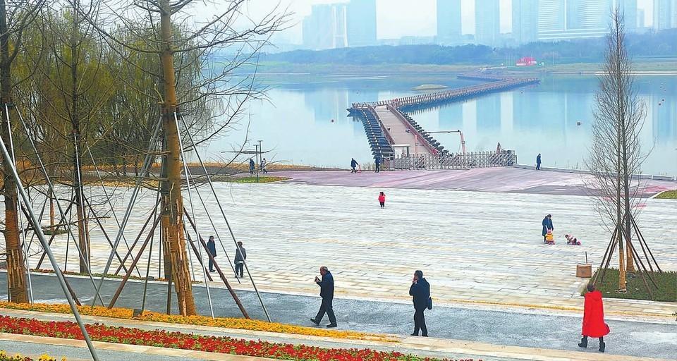 江苑浮桥恢复通行