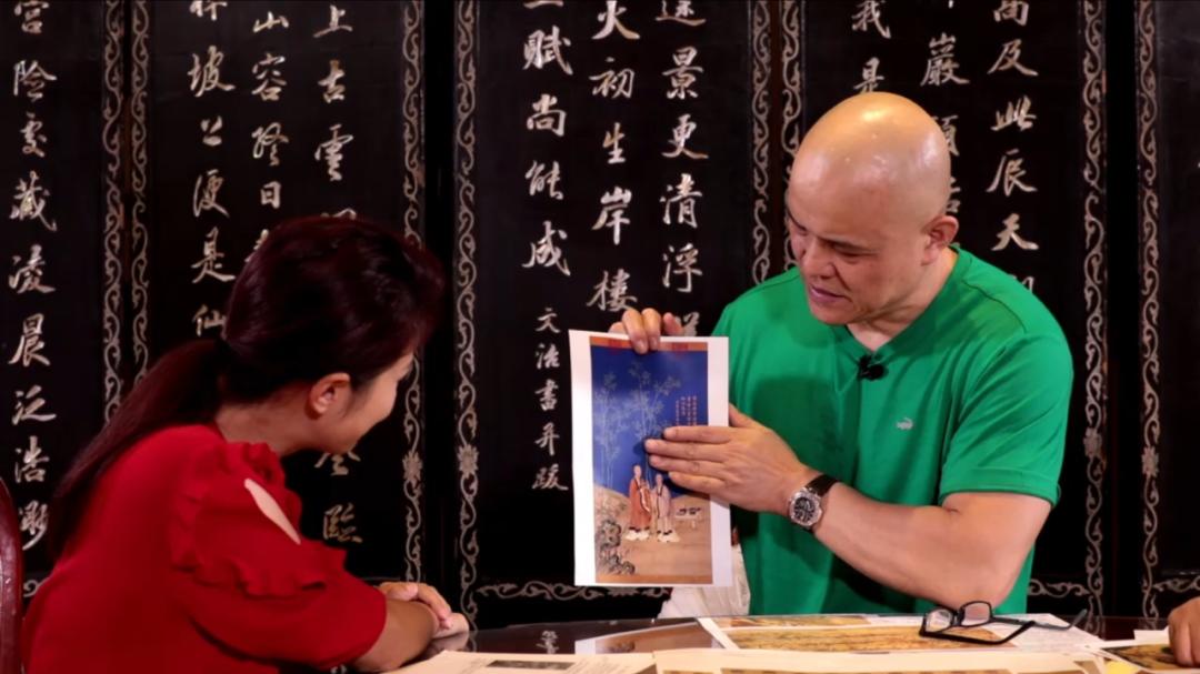 郎世宁画竹子犯了怎样的中国画禁忌?史国良现场传授画竹子。