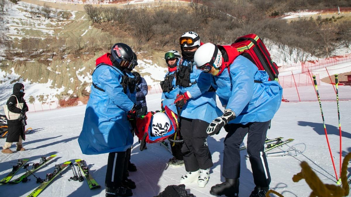 多图 | 北京冬奥会延庆赛区开展首轮全要素、全流程演练