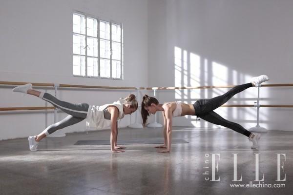 PUMA X 纽约城市芭蕾舞团芭蕾塑形力量训练