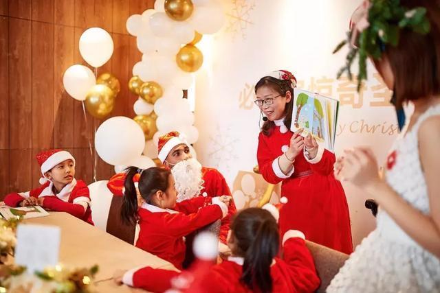 郑州市少年儿童图书馆必胜客分馆举办惊奇圣诞亲子派对