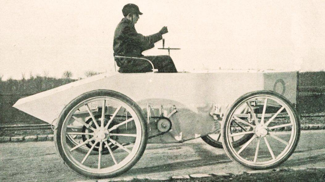 【汽车文化】车跑的比声音快?盘点历史上最快的车