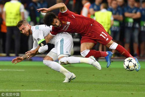 欧冠-贝尔替补2球+倒钩 皇马3-1利物浦力夺3连