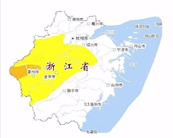 7个县市区橙色预警 浙江启动地质灾害Ⅳ级应急响应