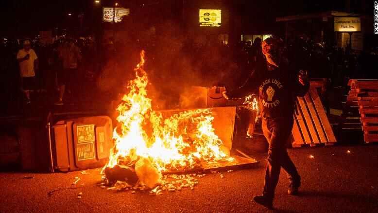 美波特兰反种族主义抗议持续百日:变革的希望仍渺茫