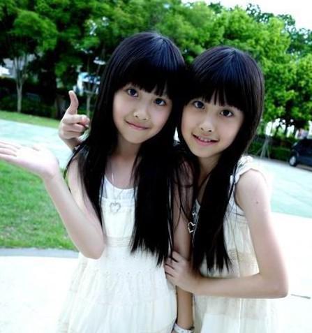 """台湾""""最美双胞胎""""长大后变更美 - 一片冰心 - 韩冰的博客"""
