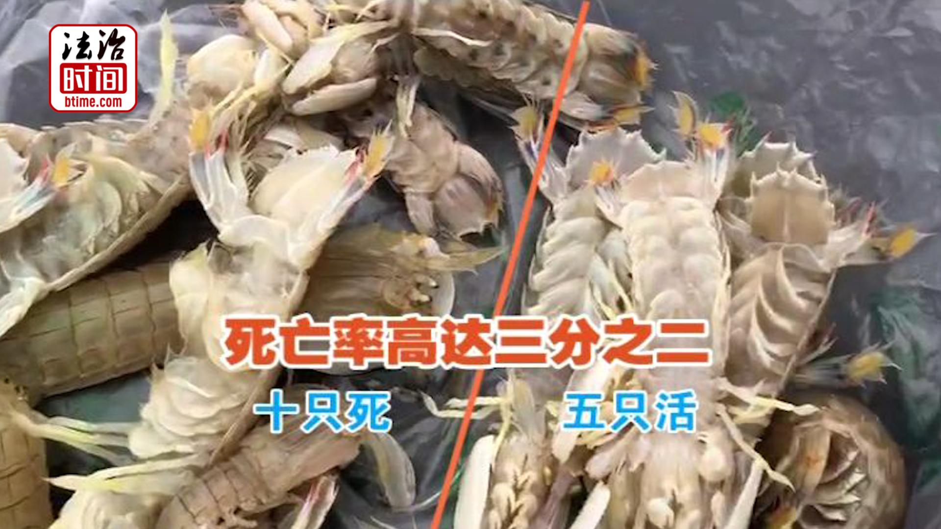 """公平秤""""休息""""!节前记者暗访海鲜市场 实拍商户""""掺水增重""""全过程"""